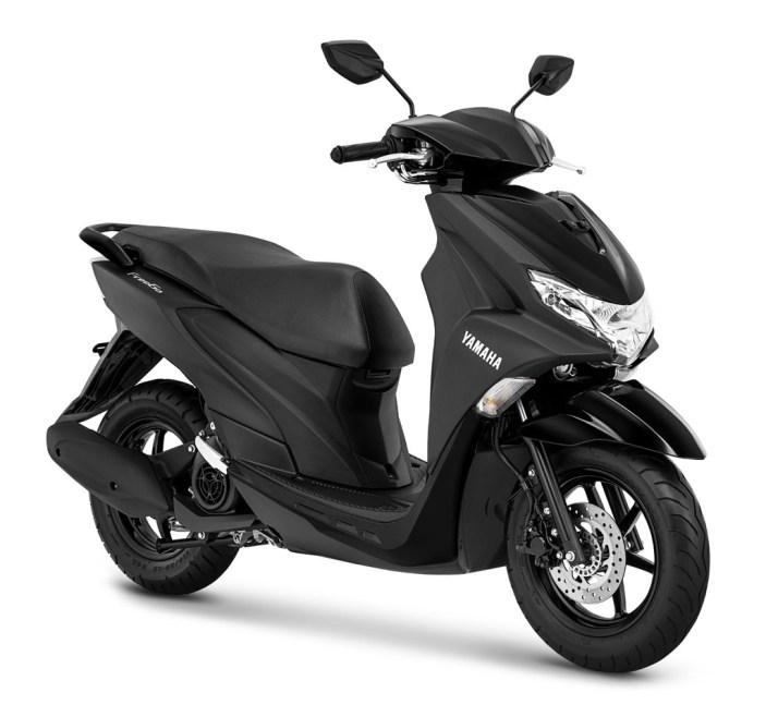 Yamaha FreeGo warna Matte Black