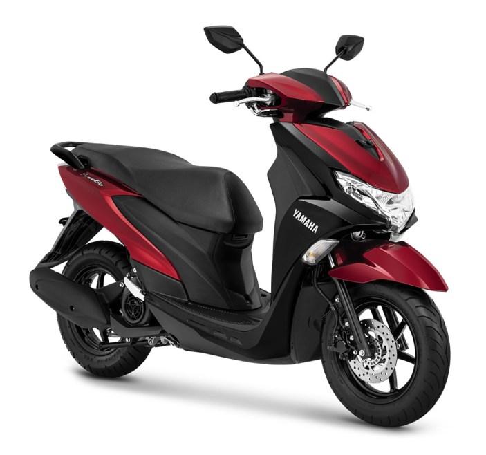 Yamaha FreeGo warna Metallic Red
