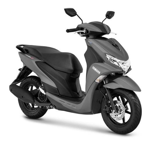 Yamaha FreeGo warna Matte Grey