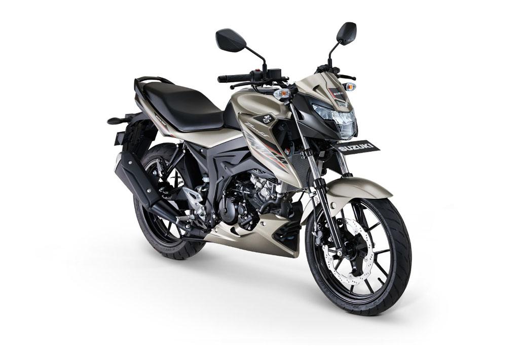 Suzuki GSX150 Bandit Warna Metallic Matte Titanium Silver