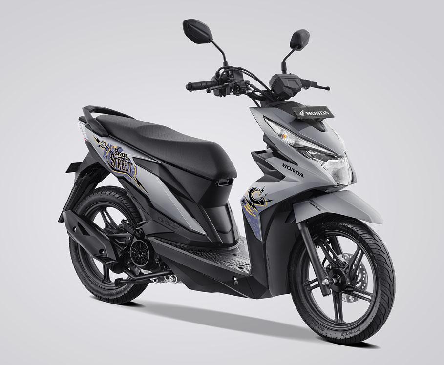 Honda Beat Street Kini Ada Pilihan Warna Silver Harga 16 Jutaan