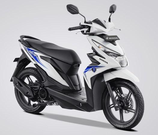 Honda BeAT eSP Warna Dance White