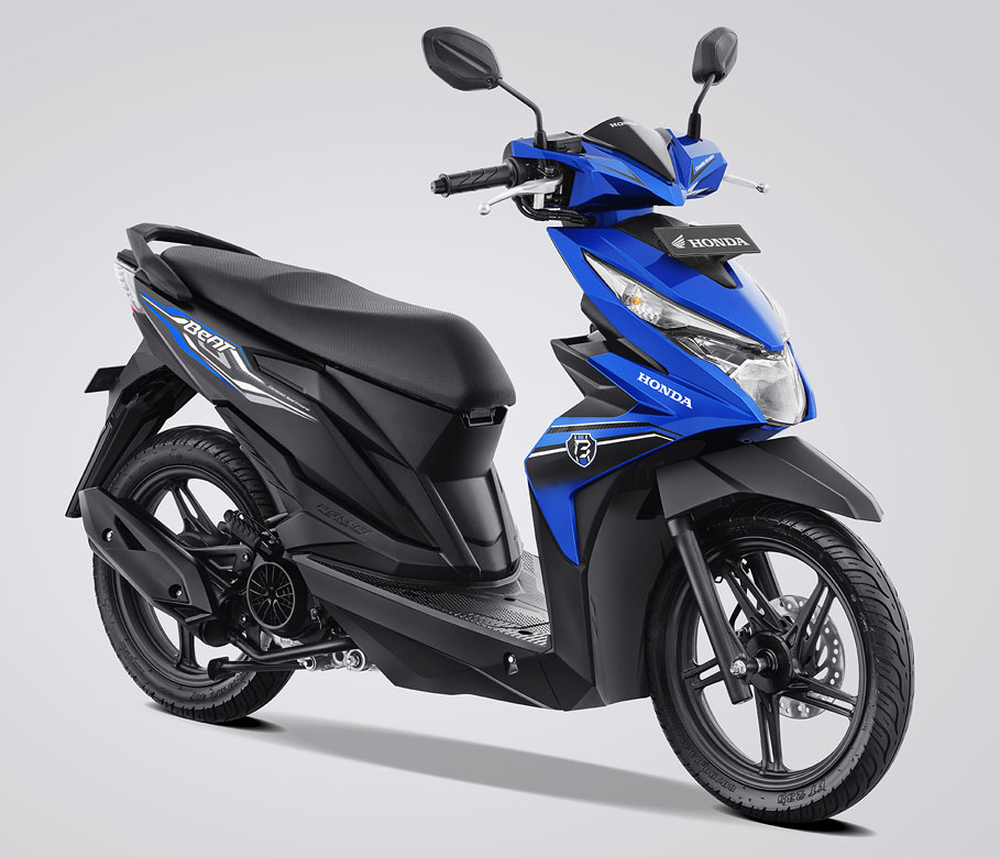 Honda BeAT eSP Warna Electro Blue Black