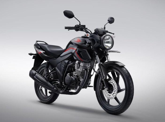 Honda CB150 Verza Warna Masculine Black