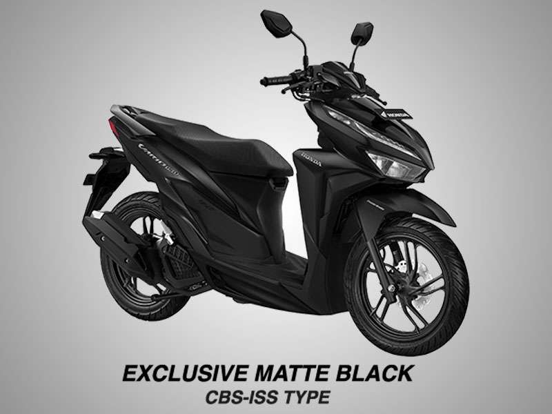 Honda Vario 150 eSP Warna Exclusive Matte Black