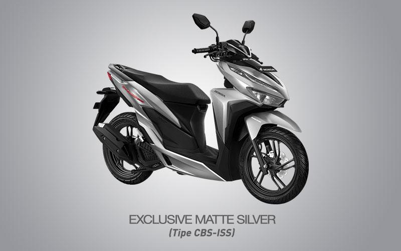 Honda Vario 150 Warna Exclusive Matte Silver