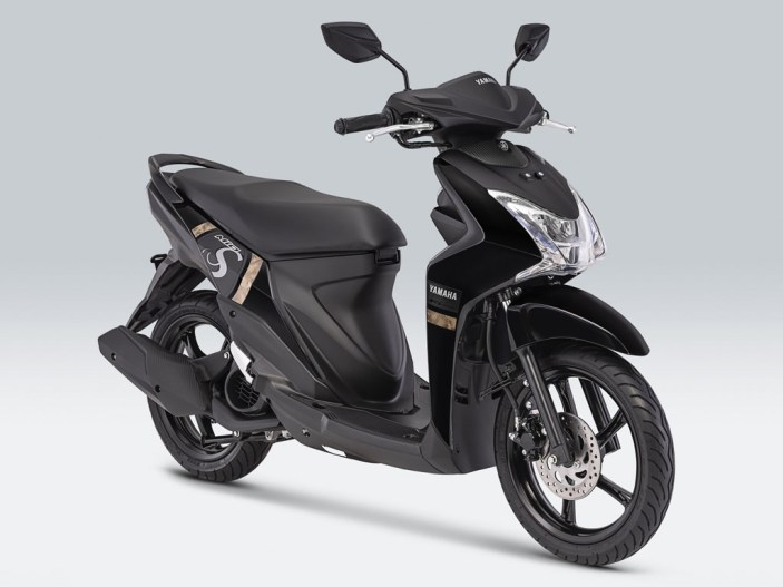 Yamaha Mio S Warna Mighty Black