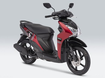 Yamaha Mio S Warna Mysterious Red