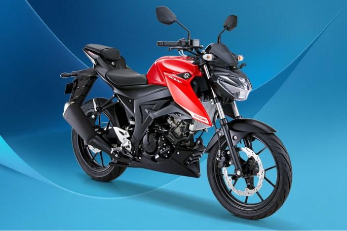 Suzuki GSX-S150 Warna Stronger Red