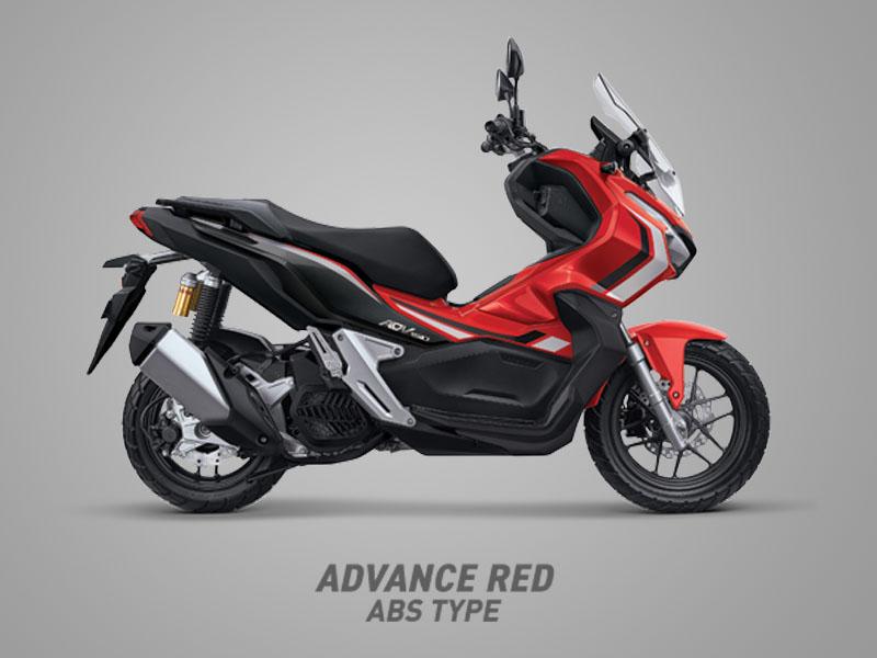 Honda ADV150 warna advance red
