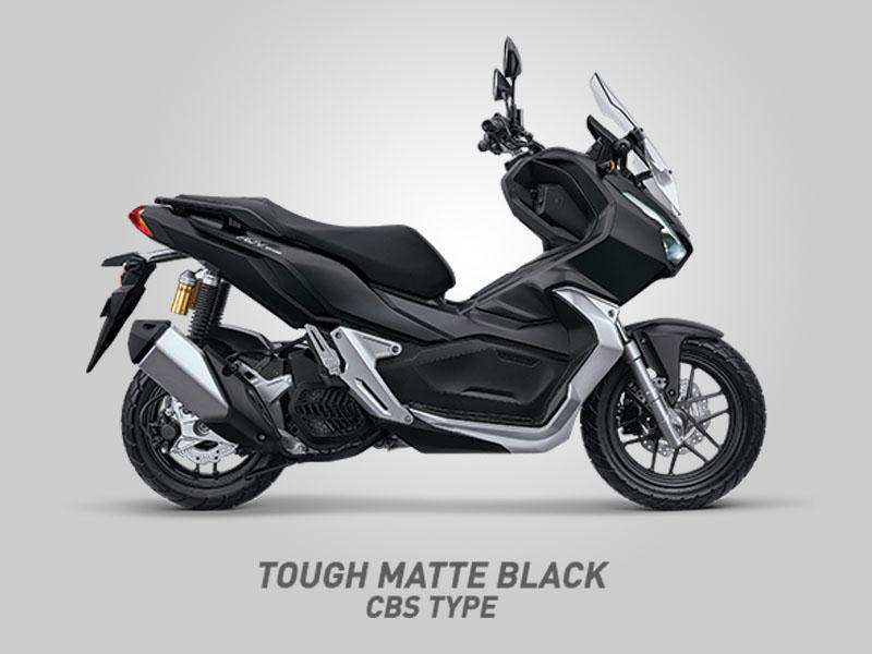 Honda ADV150 Tipe CBS Warna Tough Matte Black