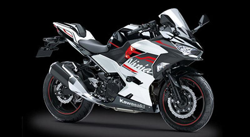 Kawasaki Ninja 250 Putih Merah