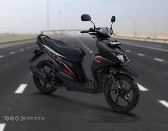 Suzuki Nex II Varian Standard Warna Titan Black