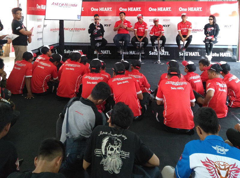 Talkshow Astra Honda Racing School