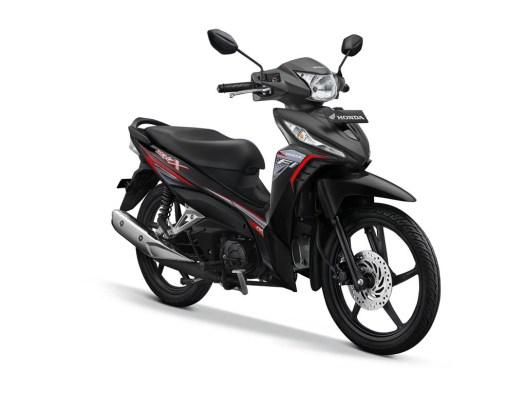 Honda Revo X Warna Quantum Black