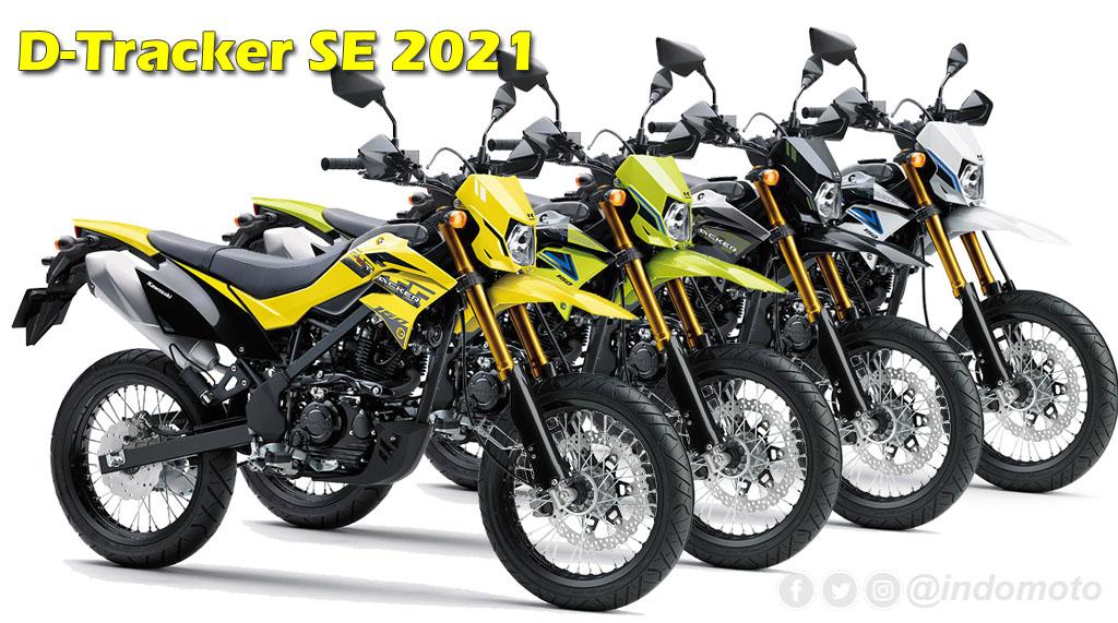 Kawasaki D-Tracker 150 SE 2021