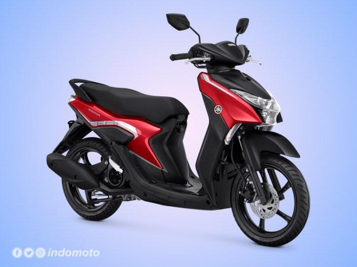 Yamaha GEAR 125 Warna Metallic Red