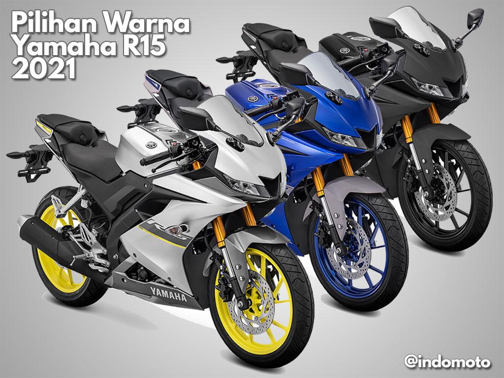 pilihan warna yamaha R15 2021