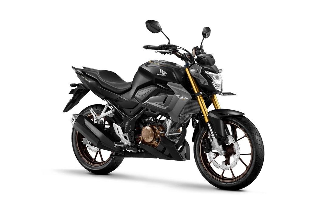 All New Honda CB150R Streetfire Special Edition Warna Raptor Matte Black