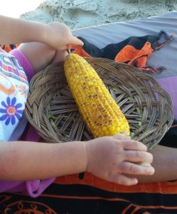 Indonesian grilled corn