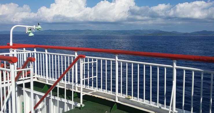 lombok ferry view