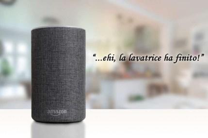Amazon Alexa speaks
