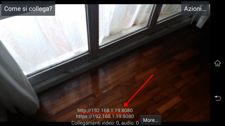 Android IP Webcam - App - 3