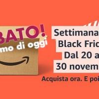 """Sabato: le promo """"BLACK FRIDAY"""" di oggi su domotica, smart home e molto altro!"""