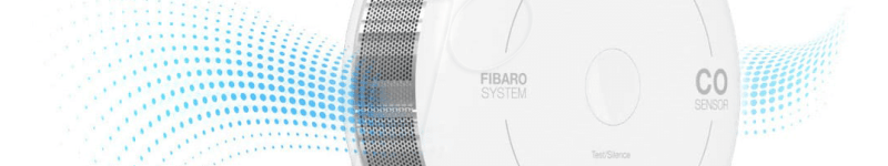 FIBARO CO Sensor (capteur de monoxyde de carbone, version Apples HomeKits)