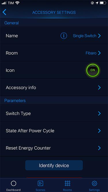 Fibaro Home - Single Switch HomeKit - 3