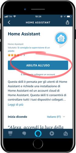 Home Assistant - Integrazione Amazon Alexa - 4