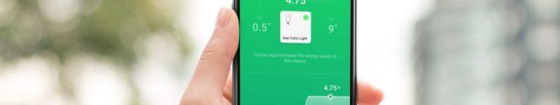 """Athom präsentiert die neue Funktion """"Homey Energy """""""
