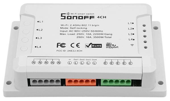 ITEAD Sonoff 4ch - R2