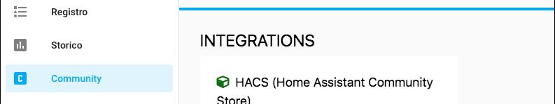 Installieren Sie HACS (Home Assistant Community Store) auf proprio HUB