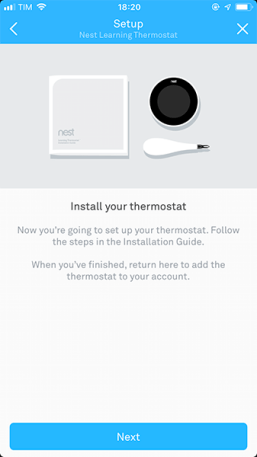 NEST App - Screen 6