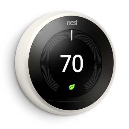 NEST Learning Thermostat V3 - Laterale - White