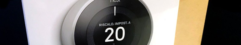 Google Nest Learning Thermostat (intelligent thermostat) v3