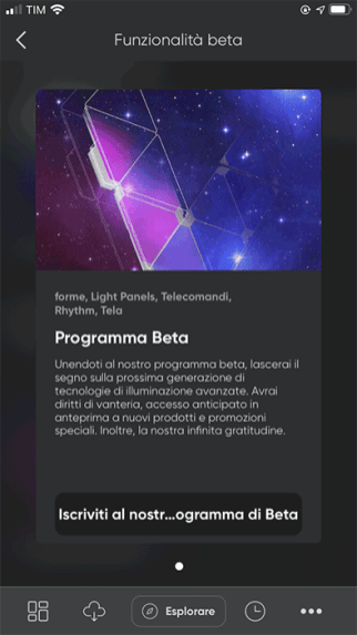 Nanoleaf - App - Programma Beta