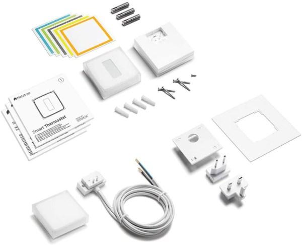 Netatmo Termostato Intelligente - Contenuto package