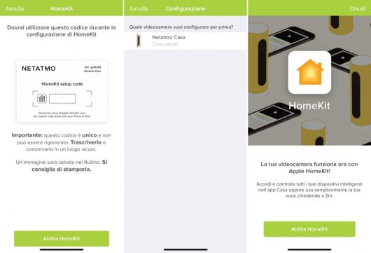 Netatmo Welcome - app