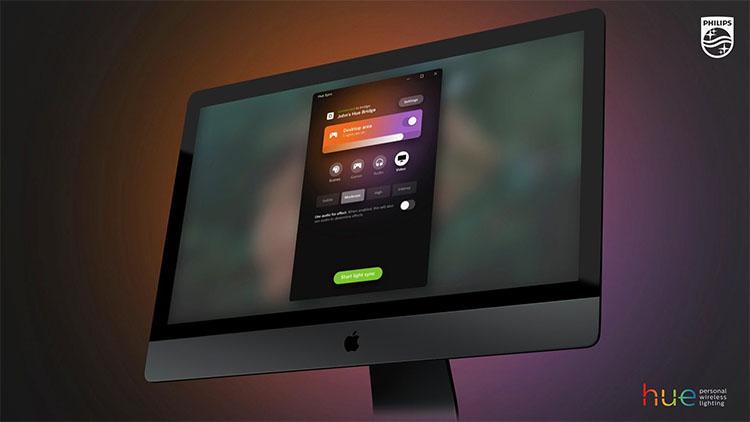 Philips Hue Sync Mac