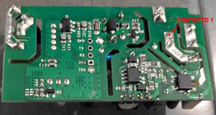 Sonoff Basic RF R2 POWER V1.0 - Contact N - new position
