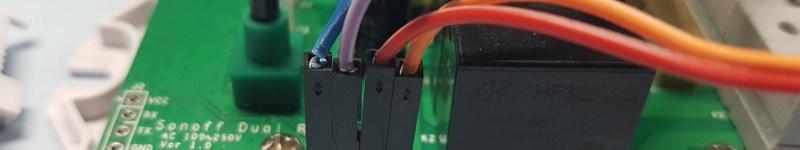 Vérifier un Sonoff Dual via des boutons externes ou des commutateurs