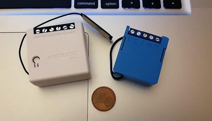 Sonoff Mini vs Qubino Mini Dimmer