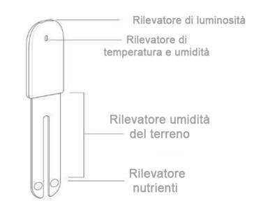 Xiaomi Mi Flora Smart - Schema funzionale