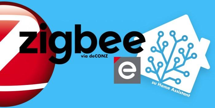 ZigBee via deCONZ su Home Assistant