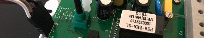 Riproestablecer un ITEAD Sonoff TH-16 / TH-10 usando firmware Tasmota