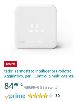 tado° Intelligent thermostat ProAdditional product - 20191209 flash