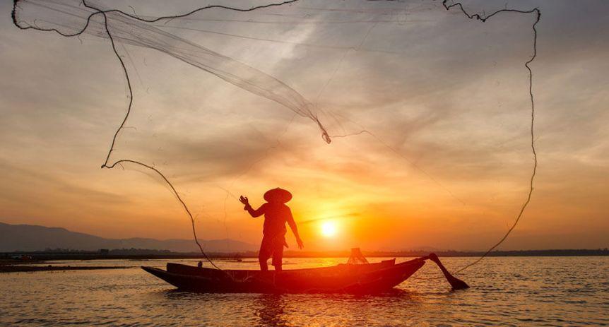 Krakal fishing