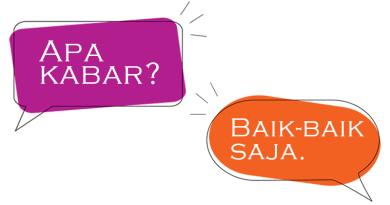 これだけは覚えたい!日常的なインドネシア語のあいさつ